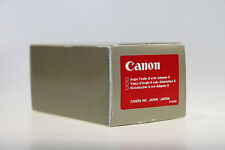 Canon Angle Finder B with Adapter S  OVP