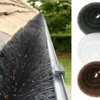 2x Permaroof Gutter Guard Brush Protection Leaf 4m x 100mm WITH 2 FREE BALLOONS