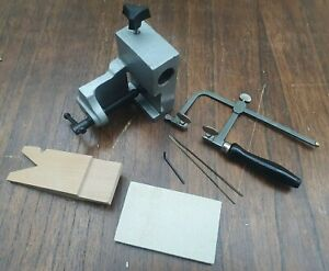 ** NEW JEWELRY MAKING TOOLS ANVIL BENCH CLAMP SAW FRAME BLADES CRAFT TOM FOOLERY