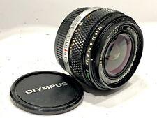 Olympus OM 28mm f2.8 Zuiko Auto W lens, NMC ver. 1985, fits OM camera or mount
