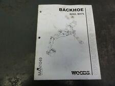 Woods Bh65 Bh75 Backhoe Operators Manual Man1049