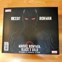 Sentinel RE:EDIT IRON MAN #06 MARVEL NOW! ver. Black X Gold Action Figure