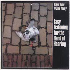 BOYD RICE, FRANK TOVEY: Easy Listening for Hard of Hearing MUTE UK Industrial LP