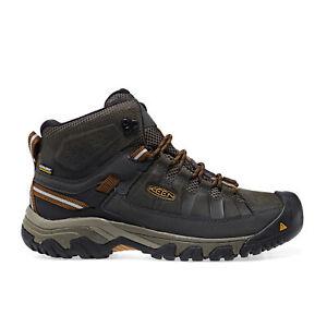 Keen Targhee Iii Mid Wp Mens Boots Walking Boot - Black Olive Golden Brown