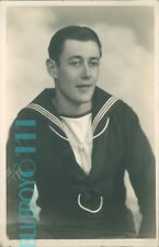 postcard WW2 royal Navy Sailor Syd dated 1940 unposted