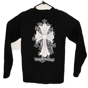 Chrome Hearts Long Sleeve Shirt Size L Black