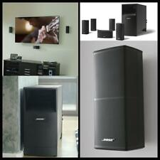 Bose Acoustimass V Home Audio Theater 5.1 Speaker Surround Sound System Black US