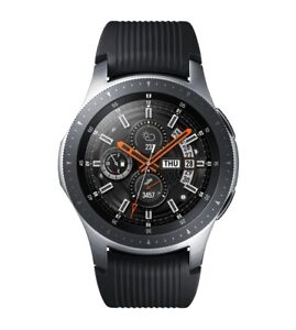 Samsung Galaxy Smartwatch Touchscreen Voice Control Watch 46mm Silver C Grade