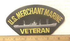 U.S. Merchant Marine Veteran Embroidered Patch