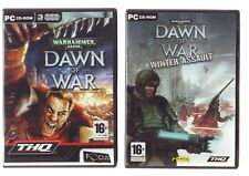 WARHAMMER 40,000 DAWN OF WAR 1 & WINTER ASSAULT - PC GAME - FAST POST - COMPLETE