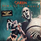 Queen News of the World Rare Gold Stamped Promo Lp From 1977 Official Press Kit