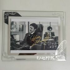 Hot Drama Dating in the Kitchen Lin Yushen Zhao Lusi Signed Photo with Frame