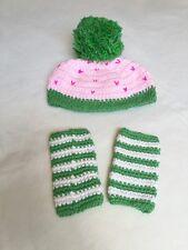 Handmade Baby Girl Ice Cream Sundae with Leg Warmer Set for newborn photo prop