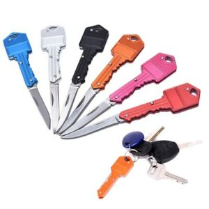 New Folding Pocket Knife Camping Outdoor EDC Fishing Hunting Tactical Keychain