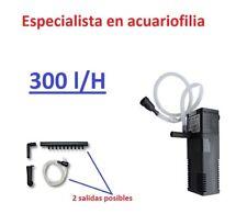 filtro interior interno acuario 300 L/H .