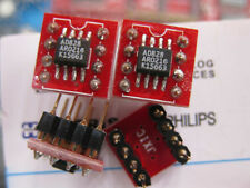 1X AD828 SOIC to DIP8 Dual Low Power Video Op Amp AD828AR