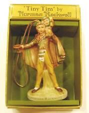 NEW Norman Rockwell Gorham Tiny Tim Christmas Ornament 1979 NIB  100% Seller