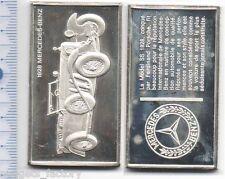 lingot d argent les voitures du Monde ( 1928 Mercedes  - 023 )