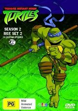 Teenage Mutant Ninja Turtles : Season 2 Box Set 2 (DVD, 2006, 3-Disc Set) Reg 4