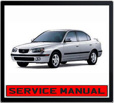 HYUNDAI ELANTRA HYUNDAI LANTRA 2000-2006 SERVICE REPAIR MANUAL IN DVD