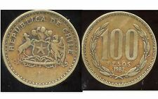 CHILI   100 pesos  1987  ( bis )