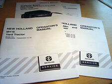 New Holland My16 Yard Tractor Operator's Manual + extra