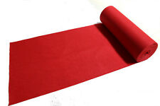 16ft 2mm Hollywood Red Carpet Floor Runner Wedding Party Aisle Decoration Prop