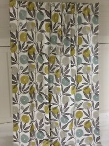 HARLEQUIN for SCION BLOOMA fabric curtains Thermal Blackout 2 pr available wide
