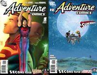 Adventure Comics #1-2 Volume 3 (2009-2010) DC Comics - 2 Comics