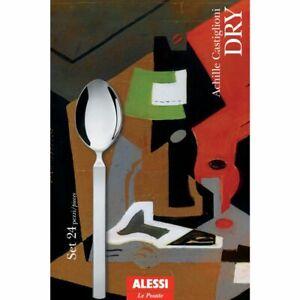 ALESSI SERVIZIO POSATE MOD. DRY ART. 4180S24  TOTALE 24 PZ
