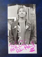 Robin Askwith  -  Autograph  3.5 x 5.5  inch
