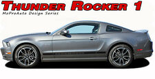 2013-2014 Ford Mustang Lower Rocker Panel Vinyl Stripe 3M Decals Graphic GT S500
