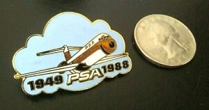 PSA PACIFIC SOUTHWEST AIRLINES BOEING B-727 JET 1949-1988 PIN