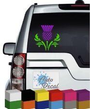Cardo Scozzese 2 colori (Scozia) VINILE CAR Finestra Decalcomania/Adesivo/GRAFICA