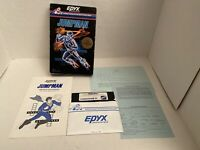 Vintage EPYX JumpMan Video Game Commodore 64 Disk Complete 1983 RARE