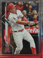 MIKE TROUT LOS ANGELES ANGELS 2020 TOPPS UPDATE ROYAL BLUE SSP U-243 HOT HOT HOT