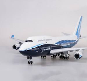 1/150 Airplane Classic Boeing 747-400 Airplane Diecast Plane Model 18 inches