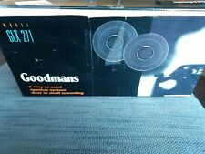 Goodmans 2 way co-axial speaker system door or shelf mounting (model GLX 271).