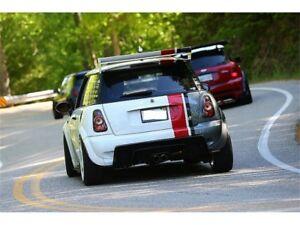 Spyder for Mini Cooper 02-06/Cooper Convertibles 05-08 Euro Style Tail Lights Bl