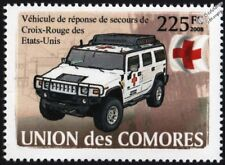 HUMMER H2 American RED CROSS Emergency Response Vehicle Car Stamp