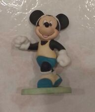 Vintage Disney Mickey Mouse Jogging Running Track Athlete Figurine