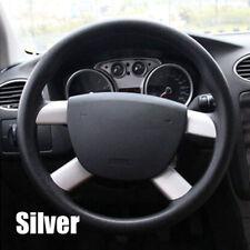For Ford Focus Mk2 2005-2011 Chrome Steering Wheel Panel Cover Trim Sequin Badge
