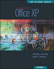 Office XP: v.1 (O'Leary Series) (Vol 1) by O'Leary, Timothy J., O'Leary, Linda
