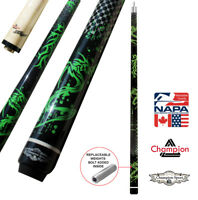 Champion Dragon Pool Cue Stick, Billiard Glove- Predator 314 Taper, 12.75mm