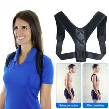 Brace Support Belt Adjustable Back Posture Corrector Back Shoulder Lumbar Unisex