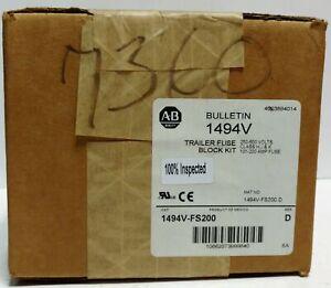 Allen-Bradley 1494V-FS200 Fuse Block