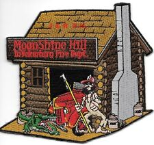 "Moonshine Hill Involuntary F.D., Conroe, TX  (4.5"" x 4"" size) fire patch"