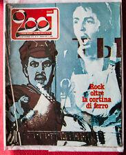 Ciao 2001 rare 1976 Paul McCartney (Beatles) ps cover ITALIA Magazine