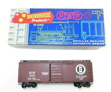 Custom RoundHouse HO 1040 40' Boxcar Buffalo Creek~Weathered~Plastic  T104