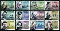 South Georgia & Sandwich Isl 2015 MNH Ships Scientists Explorers 12v Set Stamps